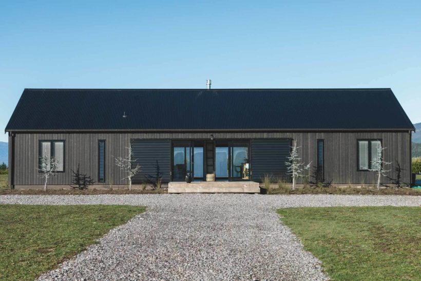 A Barn With a View - Vulcan Cladding - Abodo Wood