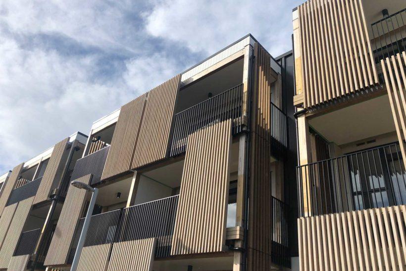 Timber Screening Over Windows - Abodo Wood